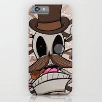 iPhone & iPod Case featuring Jolly Bones by Dracula Fetus
