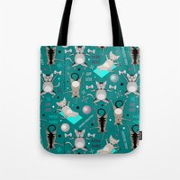 Fitness For Cats Tote Bag