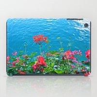 Chapel Bridge Flowers iPad Case