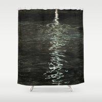 Aqua De La Vida Shower Curtain