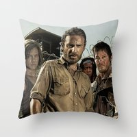 The Walking Dead - The C… Throw Pillow