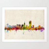 San Francisco City Skyli… Art Print
