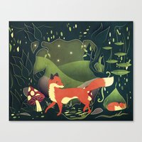 Protector Of The Innocen… Canvas Print