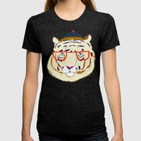 Rad Tiger Womens Fitted Tee Tri-Black SMALL