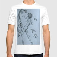 Fly Mens Fitted Tee White SMALL