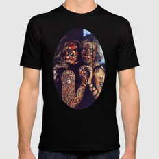 Psychoactive Bear 2 Mens Fitted Tee SMALL Black
