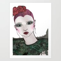 Nature Girl Art Print