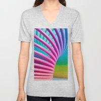 Rainbow Spring 3 Unisex V-Neck