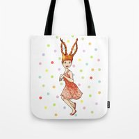 I Am The Rabbit Tote Bag