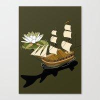 The Wandering Dutch. Canvas Print