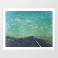 The Road Ahead Art Print