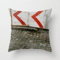 Move Over Throw Pillow