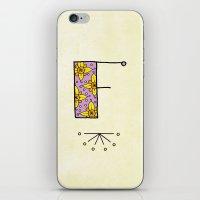 F F iPhone & iPod Skin