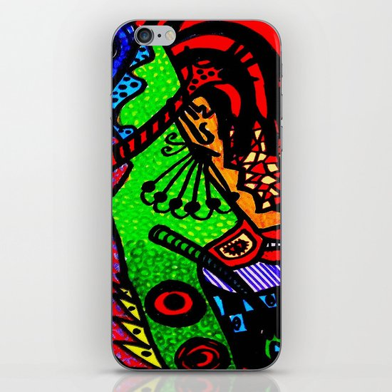 Lizard Princess iPhone & iPod Skin