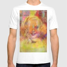 Come listen to a beautiful lie  Mens Fitted Tee White SMALL