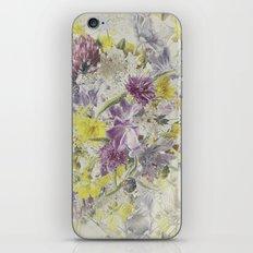 Soft Vintage Floral  iPhone & iPod Skin