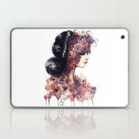 Flower Girl // Fashion I… Laptop & iPad Skin