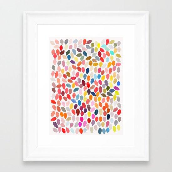 rain 3 Framed Art Print