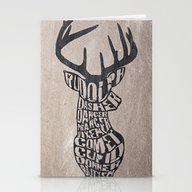 Rudolph And Friends Stationery Cards