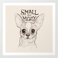 Small But Mighty Art Print