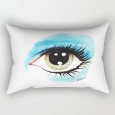 Bowie - Life on Mars? (Left Eye) Rectangular Pillow