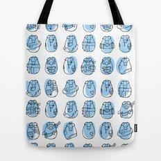 Pig family Tote Bag