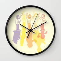 Making Magic Wall Clock