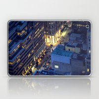 NYC Street at Night Laptop & iPad Skin
