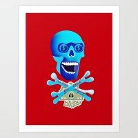 Get Rich or Die Trying Art Print