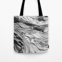 Monolithic Erosion Swirl Tote Bag