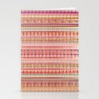 Abstract Bandana Stationery Cards