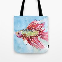 Fish Swim Tote Bag