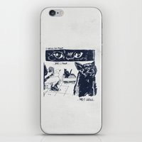 I Watch You Poop... And … iPhone & iPod Skin