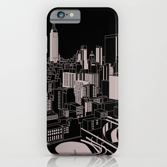 New York Black and White iPhone & iPod Case