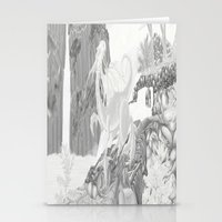 Dragon Falls  Stationery Cards