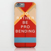 iPhone & iPod Case featuring Korra Would Rather Be Probending by Skylofts Merch
