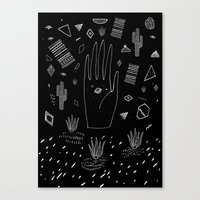 SPACE DREAMS Canvas Print