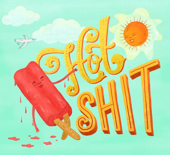 Hot Shit Art Print