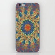 Spiritual Pinwheel iPhone & iPod Skin