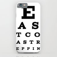 iPhone & iPod Case featuring east coast reppin' by chris sheehan