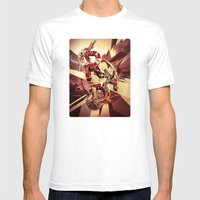 RAD Ii Mens Fitted Tee White SMALL