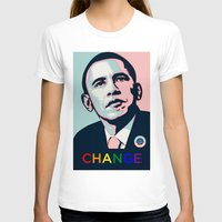 obama T-shirts featuring Obama LGBT by HUMANSFOROBAMA