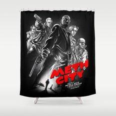Meth City Shower Curtain