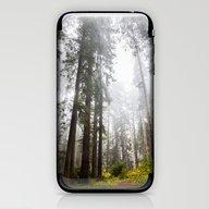 Curtain Of Fog iPhone & iPod Skin