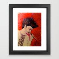 Dan Smith - Bastille Framed Art Print