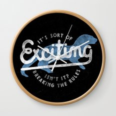 Exciting Wall Clock