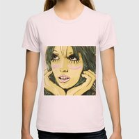 cloudnine Womens Fitted Tee Light Pink SMALL