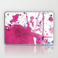Pink Splash Laptop & iPad Skin