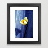 only nature is perfect Framed Art Print