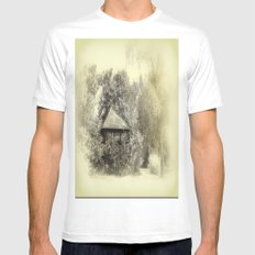 Sommerlaube SMALL White Mens Fitted Tee